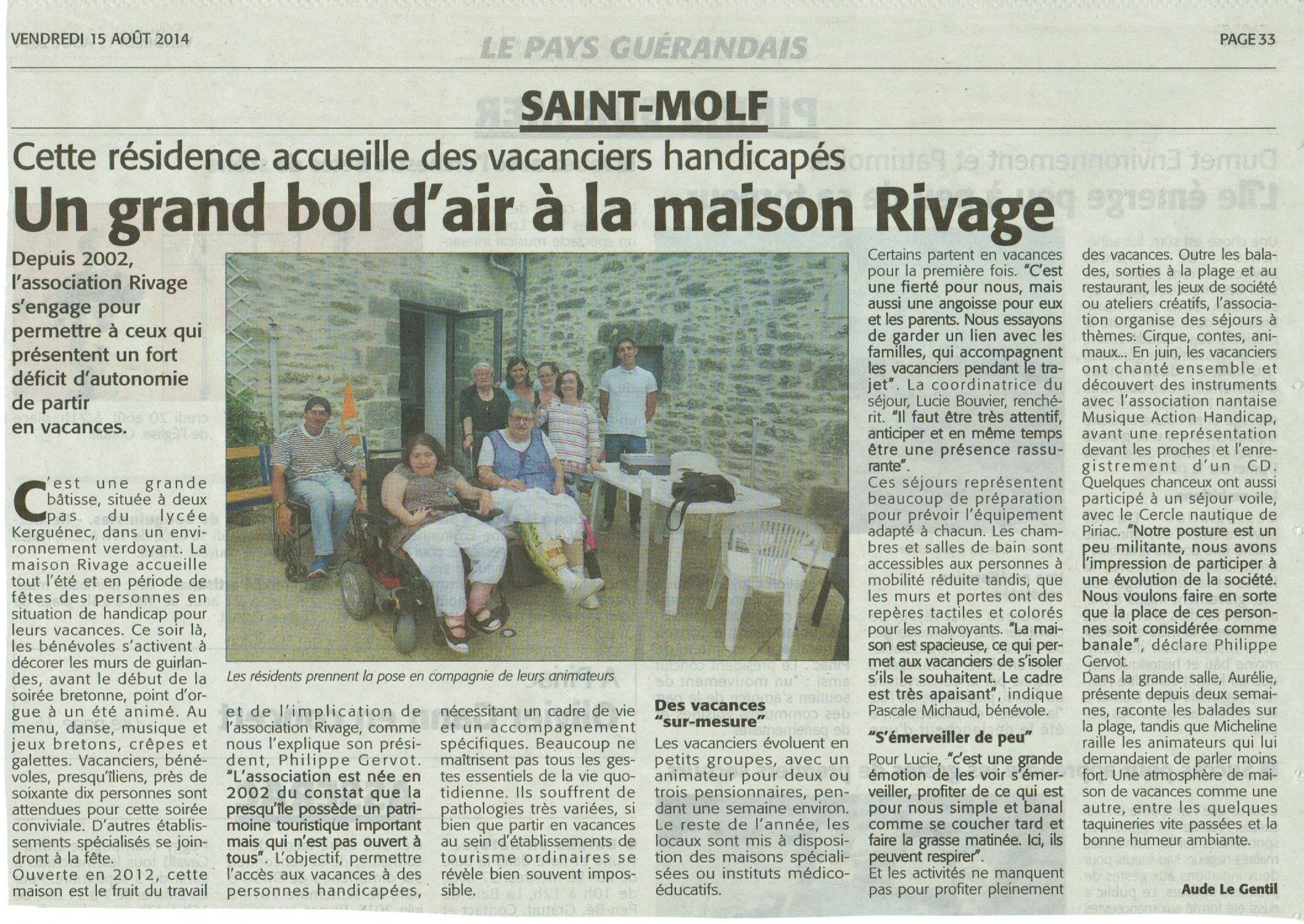 2014 08 11 Ouest-France